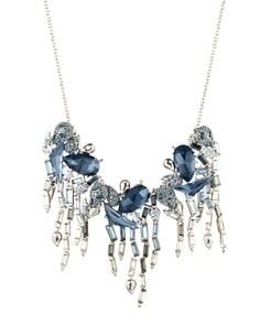 """Alexis Bittar - Crystal Ombre Fringe Necklace, 16"""""""