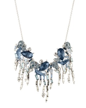 Alexis Bittar - Crystal Ombre Fringe Necklace, 16""