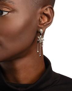 Alexis Bittar - Crystal Paisley Ear Jackets