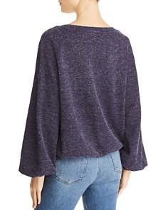 Band of Gypsies - Kelly Oversized V-Neck Sweater