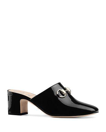 Gucci - Women's Block-Heel Mules