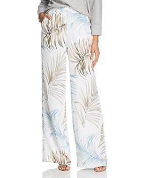 e69791373 Lafayette 148 New York - Hester Palm Print Pants ...