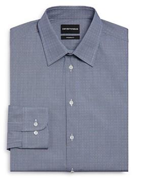 Armani - Armani Textured Regular Fit Dress Shirt