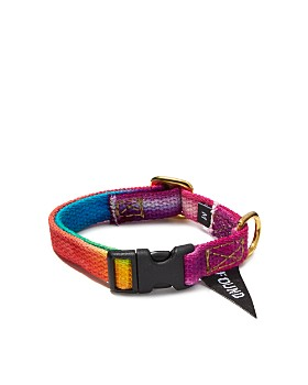 Found My Animal - Bright Tie-Dyed Dog & Cat Collar, Medium