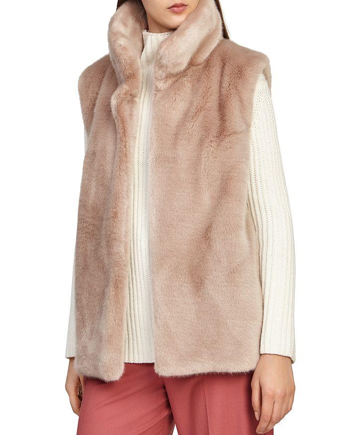REISS - Fay Faux-Fur Vest