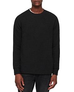 ALLSAINTS - Alpine Striped Crewneck Sweater