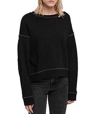 Allsaints Janey Chain-Trim Sweatshirt