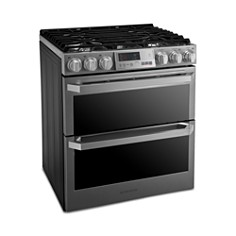 LG - SIGNATURE Smart Wi-Fi-Enabled Dual Fuel Double Oven Range with ProBake Convection® LUTD4919SN
