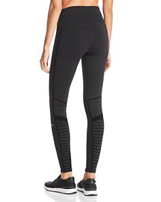 Alo Yoga - Flocked Moto Leggings