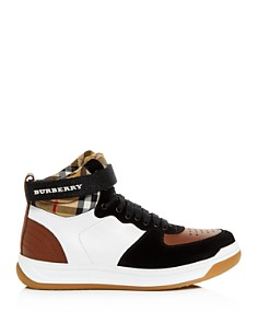 Burberry - Women's Dennis Vintage Check High-Top Sneakers