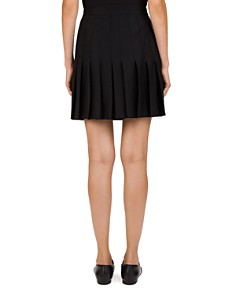The Kooples - Pleated Chain-Detail Skirt