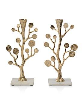 Michael Aram - Botanical Leaf Gold Candleholders