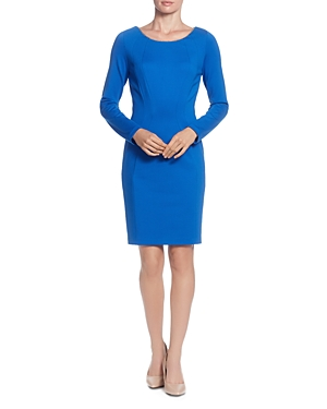 T Tahari Seamed Sheath Dress