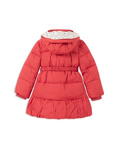 kate spade new york - Girls' Rosette Puffer Jacket - Little Kid