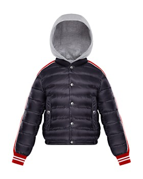 Moncler - Boys' Truyere Down Puffer Jacket with Knit Hood - Big Kid