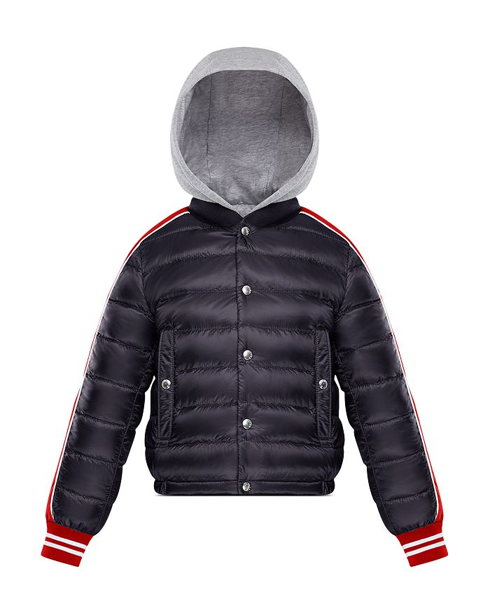 497095ca695a Moncler Boys  Truyere Down Puffer Jacket with Knit Hood - Big Kid ...
