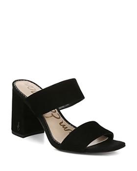 496d7d3081c527 Sam Edelman - Women s Delaney Block Heel Sandals ...