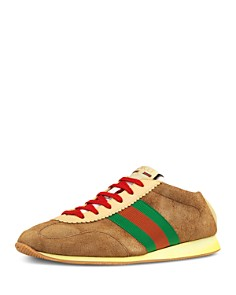 Gucci - Men's Leather & Suede Low-Top Sneakers