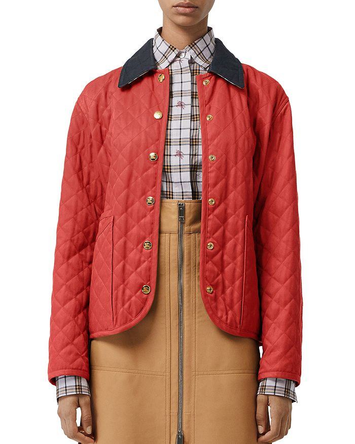 Burberry - Heritage Diamond Quilted Jacket