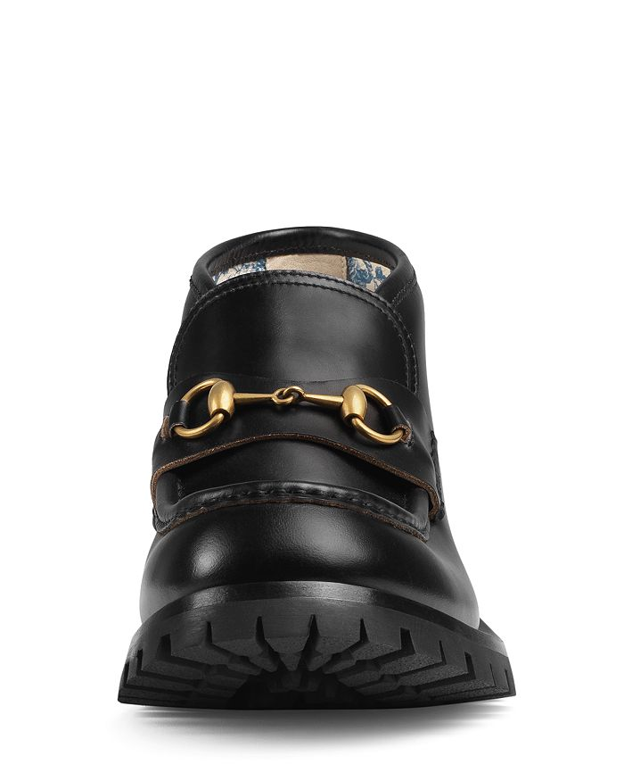 4372be6d102 Gucci - Men s Leather Apon-Toe Ankle Boots