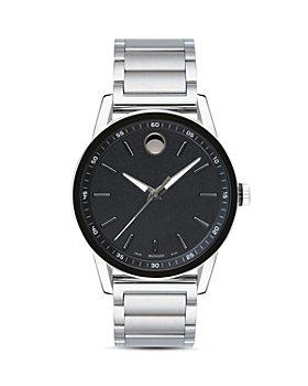 Movado - Museum Sport Silver-Tone Watch, 42mm