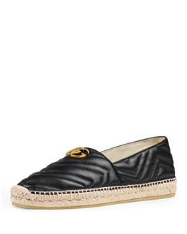 Gucci - Men's Double-G Leather Espadrilles