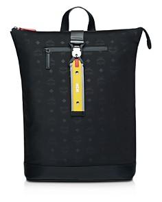 MCM - Resnick Monogram Nylon Medium Backpack