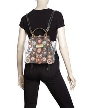 ZAC Zac Posen - Eartha Embellished Glass Convertible Backpack