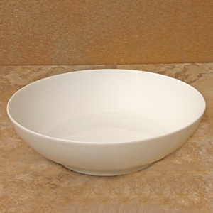 JL Coquet Hemisphere White Soup Bowl, Large