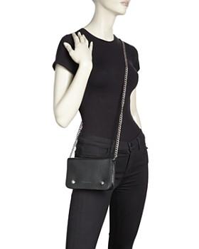 ... Longchamp - Le Foulonne Pebbled Leather Chain Wallet 6f1100e8e0e58