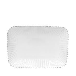 Costa Nova White Pearl Rectangular Platter