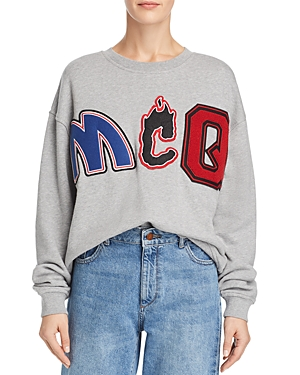 McQ Alexander McQueen Embellished Slouch Sweatshirt