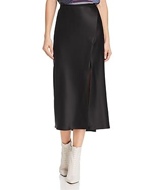 Anine Bing Dolly Silk Midi Skirt