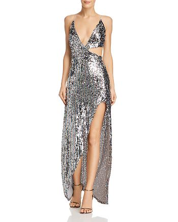 38a11a3365d For Love   Lemons - Showtime Sequined Maxi Dress