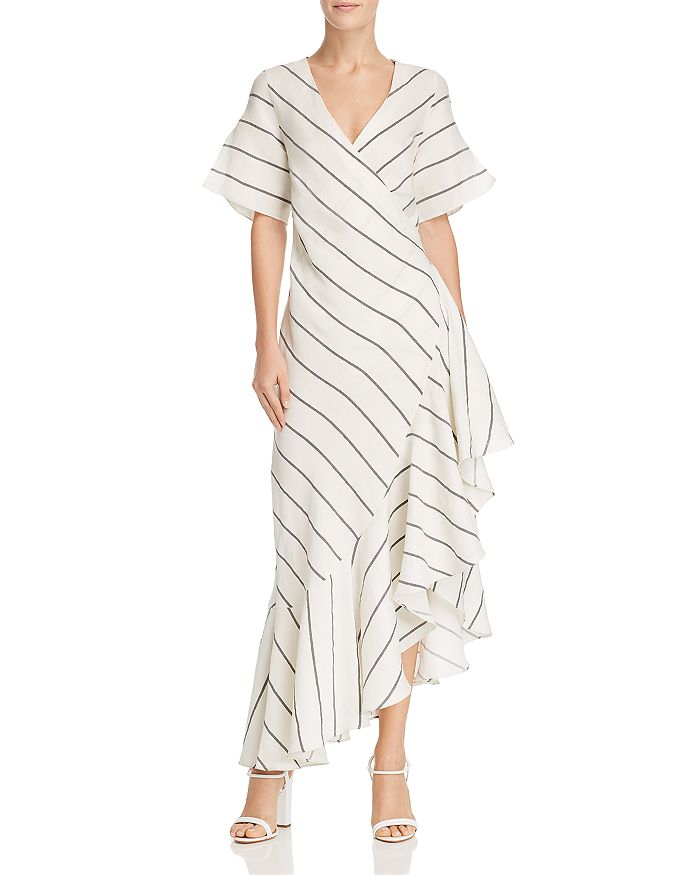 Paper London LAGOS STRIPED DRESS