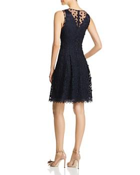 Elie Tahari - Jessy Embroidered Mesh Dress