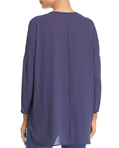 NIC and ZOE - Pintuck Front Peasant Top