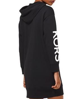 MICHAEL Michael Kors - Studded Logo Sweatshirt Dress