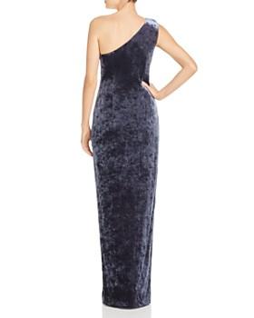 Rachel Zoe - Theresa Velvet One-Shoulder Gown - 100% Exclusive