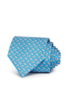 Salvatore Ferragamo - Scottie Dogs Silk Classic Tie
