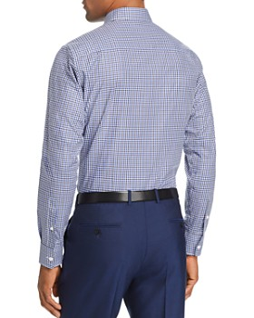 Z Zegna - Gingham Regular Fit Button-Down Shirt