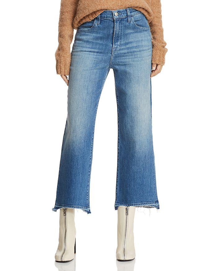 J Brand - Joan Crop Wide-Leg Jeans in Spirit