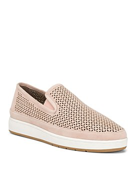Donald Pliner - Women's Maddox Perforated Suede Slip-On Sneakers