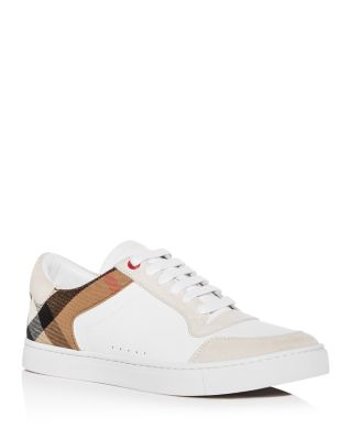 Reeth Leather Low-Top Sneakers