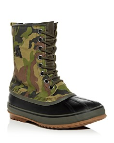 Sorel - Men's 1964 Premium T Camo Print Nubuck Leather Cold-Weather Boots