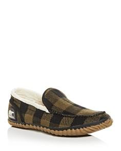 Sorel - Men's Dude Plaid Moc-Toe Slippers