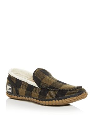 Sorel Men's Dude Plaid Moc-Toe Slippers