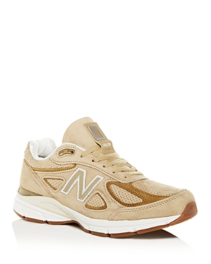 New Balance Men's 990V4 Suede Low-Top Sneakers