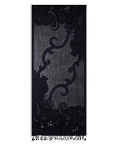 Gerard Darel - Elisa Floral Paisley Wool Scarf