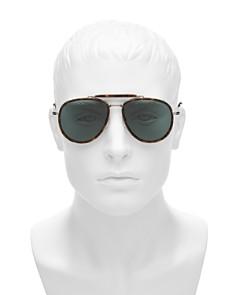 Tom Ford - Men's Tripp Brow Bar Aviator Sunglasses, 58mm
